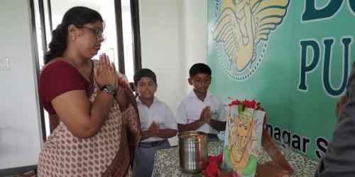 ganesh Puja Celebration